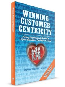 Customer excellence roadmap in the book Winning customer centricity