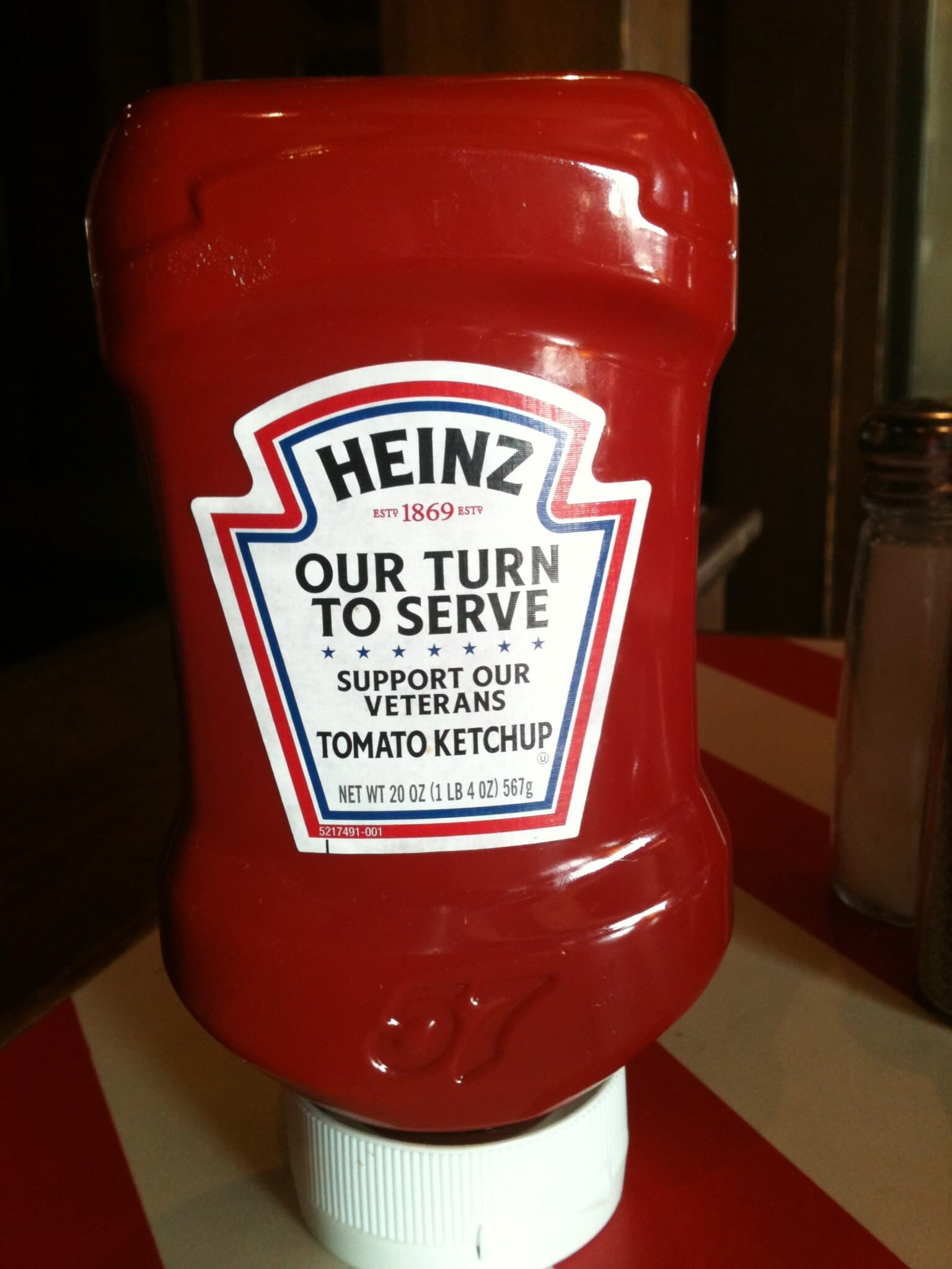 Heinz message on Packaging is Part of Product or Promotion