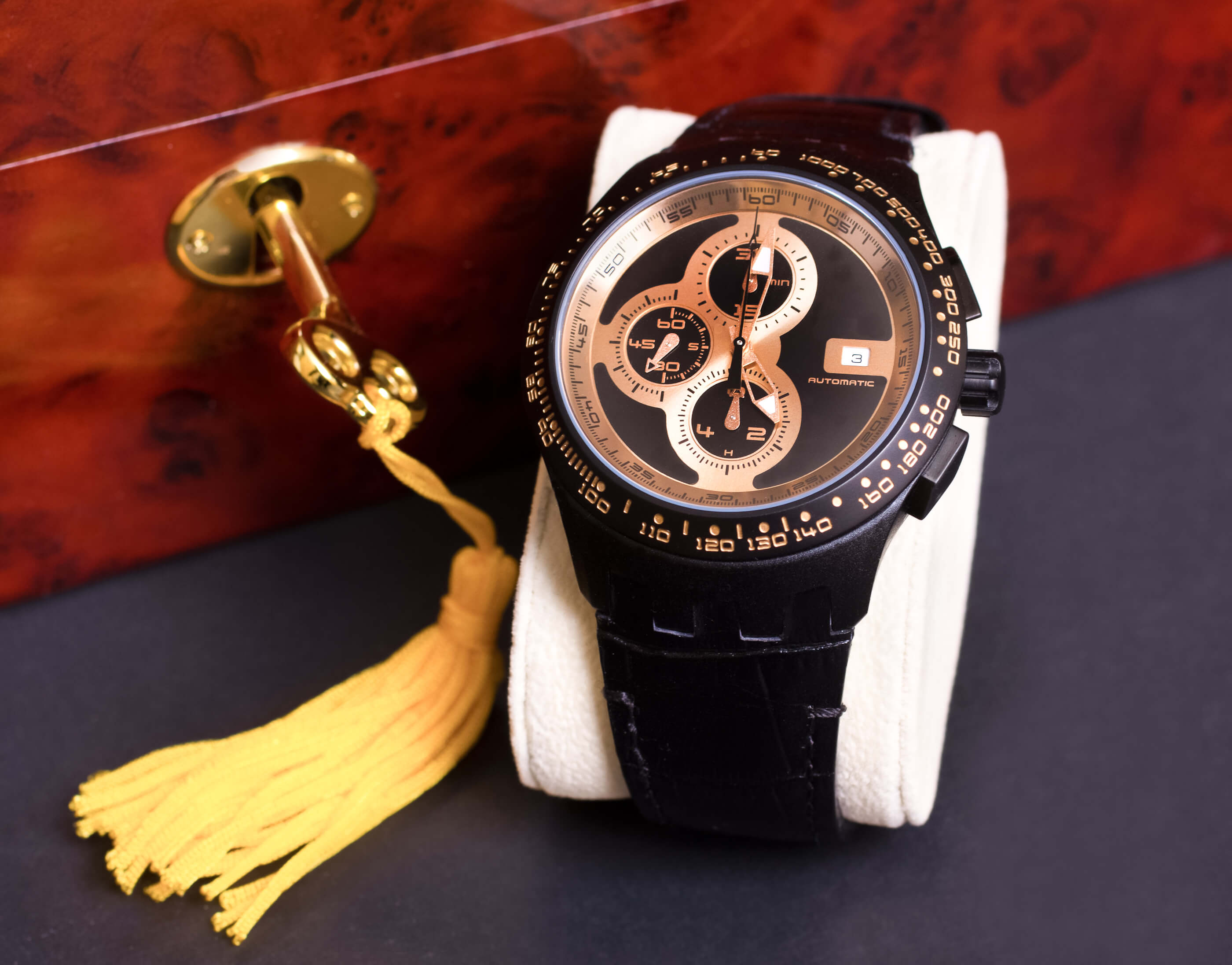 The key to luxury watch communications