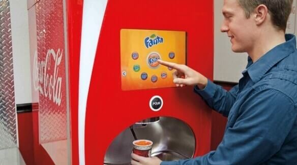 Coca-cola freestyle maching customer co-creation example