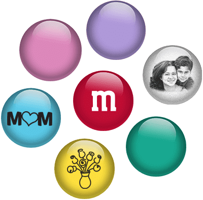 Personalised M&Ms from customer co-creation