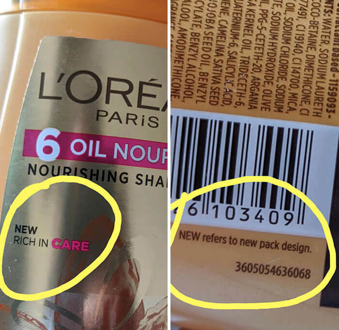 Sad that even LOreal tries to cheat its customers
