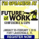 I'M SPEAKING AT FUTURE OF WORK CONFERENCE