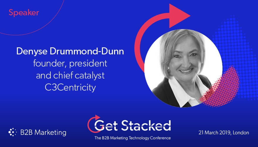 Denyse Drummond-Dunn Speaker at Get Stacked 2019