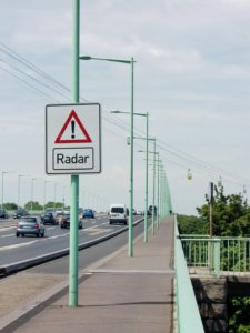 speed radar warning